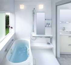 awesome kid bathroom ideas with white porcelain triple sink using
