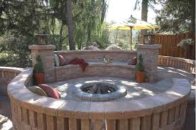 Outdoor Patio Firepit Outdoor Patio Pit Stylish Design Barn Patio Ideas