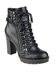 womens boots guess amazon com g by guess grazzy black bootie shoes