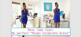 tips the miami corporate dress the magic city