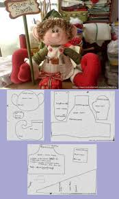 sewing patterns christmas elf 1110 best dolls 2 soft dolls dollmaking patterns tutorials