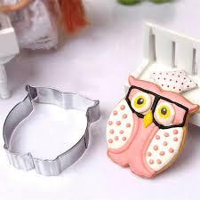 Aliexpress Com Buy 1pcs Stainless Steel Diy Owl Cutter Cookie