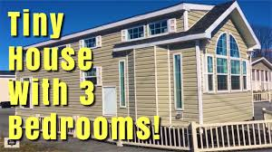 tiny house for two tiny house with 3 bedrooms youtube