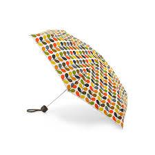 orla kiely by fulton microslim 2 umbrella gift box multi stem