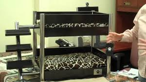 Doggie Bunk Beds Lazybonezz Metropolitan Pet Bunk Bed