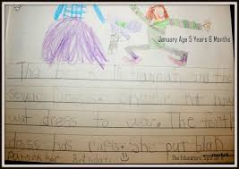 what kindergarten writing looks like a year of student samples