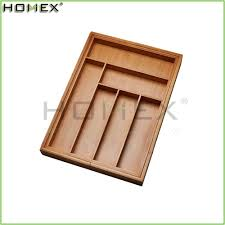 Bamboo Silverware Holder List Manufacturers Of Bamboo Drawer Organizer Buy Bamboo Drawer