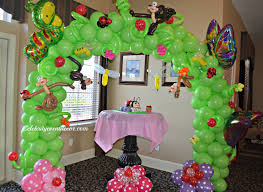 Balloon Centerpiece Ideas Balloon Ideas For First Birthday Image Inspiration Of Cake And