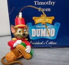27 99 grolier timothy from dumbo president s edition ornament