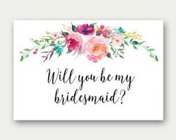 bridesmaid invitations template bridesmaid printable will you be my bridesmaid bridesmaid