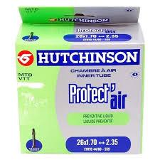 chambre à air butyl chambre à air hutchinson protect air 26x1 70 2 35 butyl presta 48 mm