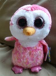 show exclusive pink penguin beanie boo ebay