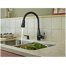 tuscan bronze kitchen faucet tuscan bronze ainsley 1 handle pull kitchen faucet lf 529
