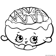 chrissy cream from shopkins chef club coloring pages printable