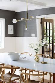 gray wash dining table room walls grey dark painted rooms modern