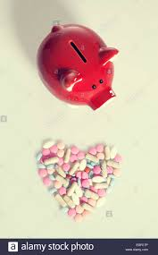 heart shaped piggy bank heart shaped drugs and piggy bank investment healt care