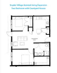 floor plans with courtyards apartment floor plans snyder village