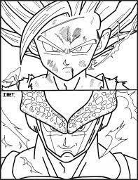 imagenes de goku para dibujar faciles con color dragon ball z goku son gohan son embrace visit now for 3d dragon