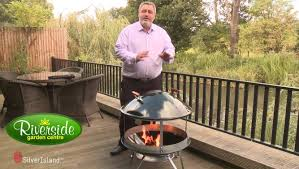 Weber Firepit Product Demonstration The Weber Firepit Fireplace