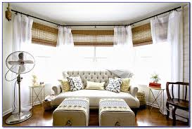Bay Window Curtain Rod Corner Bay Window Curtain Rods Curtain Home Decorating Ideas
