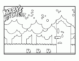 coloring pages to print of kirby coloring home
