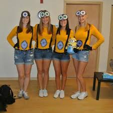 Minions Halloween Costumes Adults 25 Halloween Costumes Triplets Ideas Teen