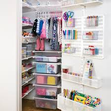 Container Store Shelves by White Elfa Reach In Closet Container Store Organizing And