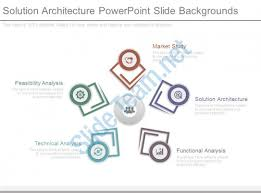 solution architecture powerpoint slide backgrounds powerpoint