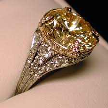 gold diamond rings platinum fancy yellow diamond ring diamond jewelry cleveland