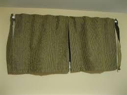 sweet looking short curtains for basement windows window