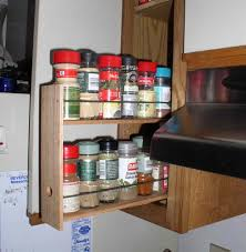 kitchen sliding spice rack for nice kitchen cabinet design