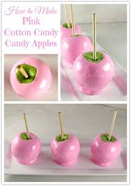 where to buy candy apples how to make soft pink cotton candy candy apples pink cotton