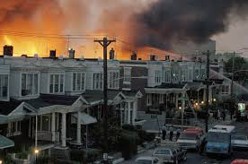 house 1985 1985 when philly police dropped a bomb on a residential neighborhood
