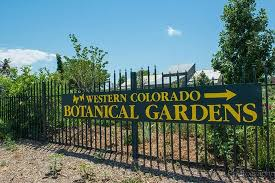 Botanical Gardens Grand Junction Entrance From Picture Of Western Colorado Botanical