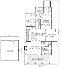 floor plans southern living house plan sparta sl1810 a southern living plan by lew oliver