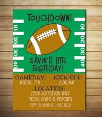 football theme first birthday invitation amybellsandwhistles on