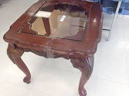 Table Glass Top Ideas For Glass Top End Tables With The Result Hometalk