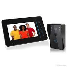 front door video camera 7 tft screen 2 4g wireless video door phone intercom doorbell home