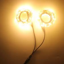 copper wire led lights aliexpress com buy 2pcs copper wire led light 20 meter warm white