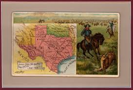 Map Of New Mexico And Texas by Postcard Map Of Texas New Mexico And Indian Territory Yana