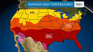 weather map us islands monthly average temperatures weather