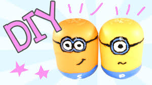 Cute Salt And Pepper Shakers by How To Make Minions Salt U0026 Pepper Shakers Diy Minions Salt And