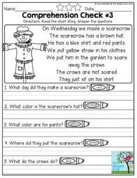 paragraph stories for reading comprehension reading comprehension checks stories and questions to