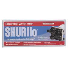 shurflo revolution water pump shurflo 4008 101 e65 fresh water
