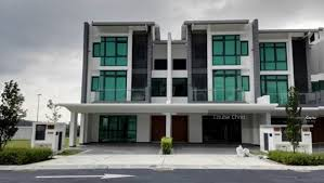 3 storey house 3 storey superlink house freehold at puchong cyberjaya puchong