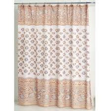 Seashell Shower Curtains South Seashell Fabric Shower Curtain Bedbathhome