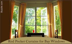 varieties of bay window curtains that are simply mesmerizing