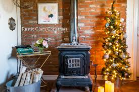 rustic glam christmas office decor sweet c u0027s designs