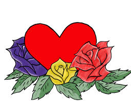 hearts and roses coloring pages az coloring pages clip art library
