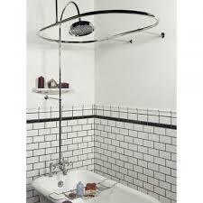 Clawfoot Tub Shower Curtain Rod You Can Make Yourself Shower Curtain Rods For Clawfoot Bathtubs U2022 Shower Curtain